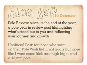 Blog hop pole review