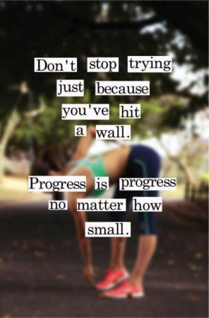Progress reminder