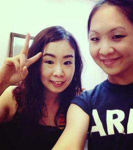 With my new Japanese friend :)