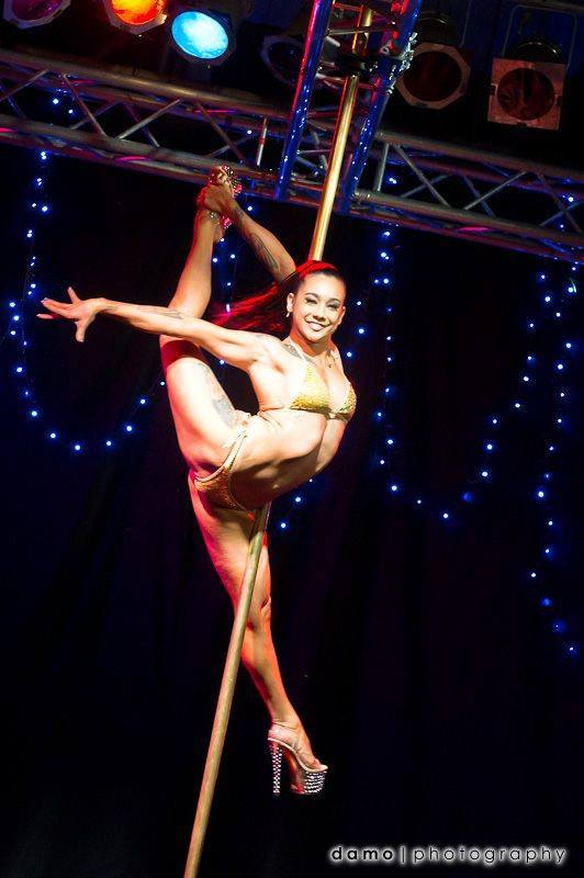 Sexy slutty stripper pole